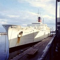 The Antilles 1966 in a Caribbean port