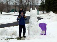 Bat-Snow-Man!