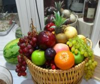 Theme: Round Things - Many Fruits