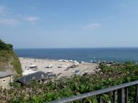 Beach in Beer Devon