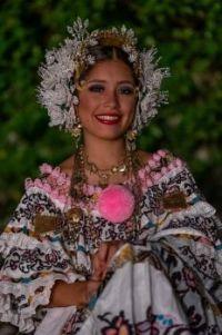 Panamanian Woman - Traditional Attire