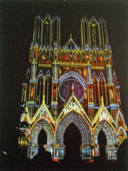 Reims, France Cathedral on Its 800th Birthday