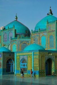 Blue Mosque at Mazar e Sharif, in Herat, North Afghanistan.