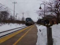 Amtrak downeaster GE Genesis