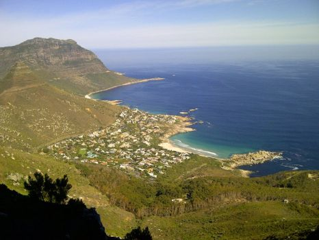 Nr Cape Town, looking down on to Llandudno.