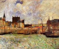 Harbour Scene, Dieppe, Paul Gauguin