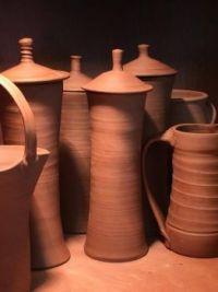 Nancy Gallagher's pots