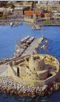 Greece - Island of Rhodes   - the main port