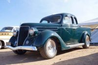 1936 Ford coupe ute perculiar to Australia. This one has been Rodded and looks terrific!