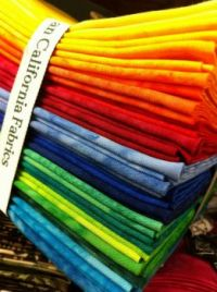 Rainbow Fabrics - Larger