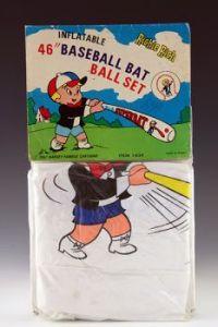 Richie Rich Inflatable Baseball Bat and Ball Set