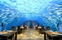 Undersea dining, Conrad Hotels, Maldives