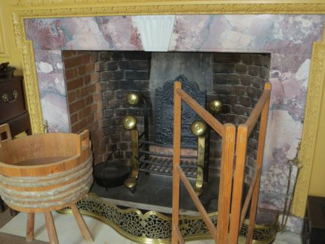Colonial Era Fireplace