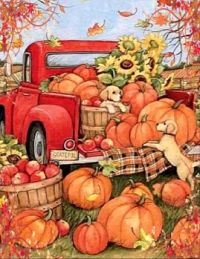 Loading up the Pumpkins