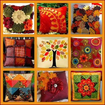Fall Decorative Pillows (large)