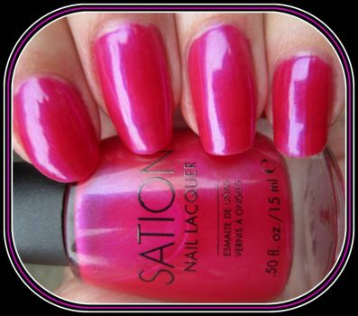 Pinknblack Perfect Nails with Stations's Pink Opal