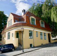 Hillside house in Stavanger Norway.
