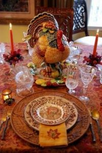 Turkey Day Table