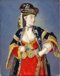 Portrait of a Lady in Turkish Dress