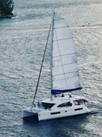 Island hopping Catamaran