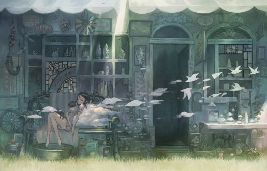 anime-artwork-birds-clouds-doors-2545400-1560x1000
