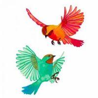 Colorful Chickadees