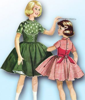 Themes Vintage illustrations/pictures - McCalls Sewing Pattern