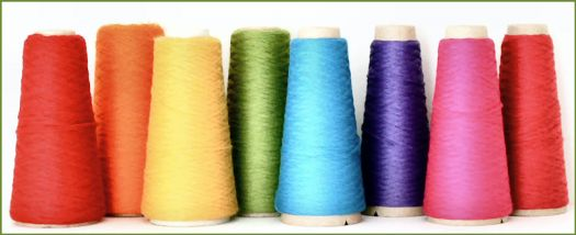 Colorful Thread Cones