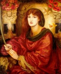 D G Rossetti - Sybilla Palmifera