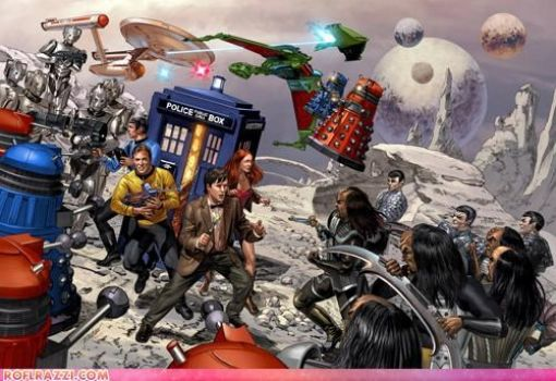 dr who and star trek