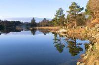 Beautiful morning near Hellvik - Norway