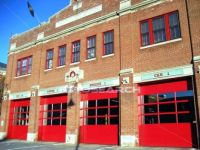 An old fire station.