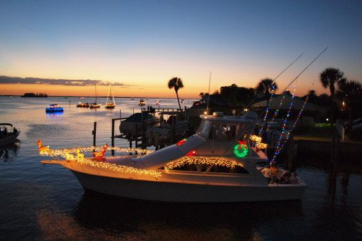 Christmas on the water