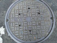 NYC sewer cover