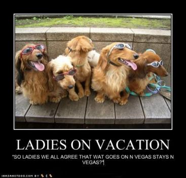 Ladies on vacation