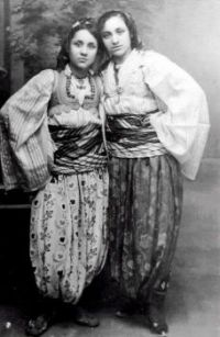 Mother Teresa as a teenager on the left, 1920s
