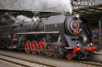 Czech Steam locomotive 475.179