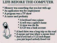 Life before the computer.