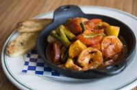 barbecued Mexican shrimp