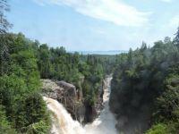 Aguasabon Falls, Ontario Canada