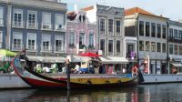 Canal boat in Aveiro, Portugal