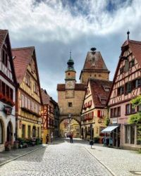 8.7 Rothenburg ob der Tauber in Mittelfranken
