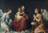 Francesco Albani, Madonna with the Child and angels, 1610-1615