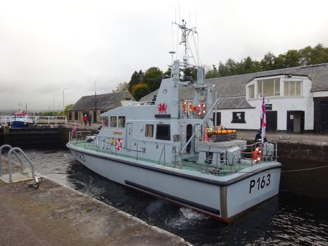 HMS Express boat