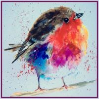 Seasonal - Winter - Card - Bird - Fat Robin