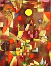 Full Moon by Paul Klee