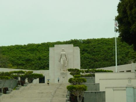National Cemetery of the Pacific (Punchbowl) - Oahu, Hi