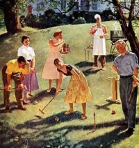 BBQ and Croquet