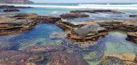 Mollymook NSW rock pools [Australia]