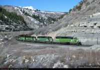 Kyune, UT Burlington Northern
